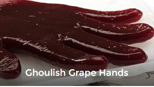 Recipe: Ghoulish Grape Hands Juicy Juice