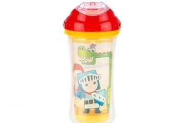Nuby Clik-it™ No Spill™ Insulated Cool Sipper™