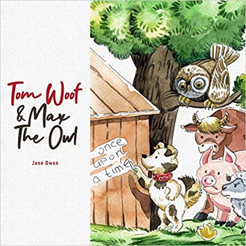 Tom Woof and Max the Owl